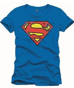 Superman-Camiseta Classic Vintage Logo DC Comics Camiseta tamaño XL