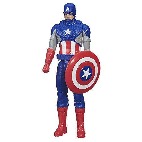 Marvel Avengers - Figura Capitán América, 30 cm (Hasbro B6153ES0)