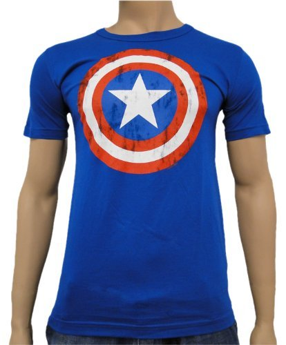 Camiseta Capitan America Vintage