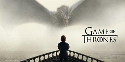 Póster Juego de Tronos Tyrion y Dragon