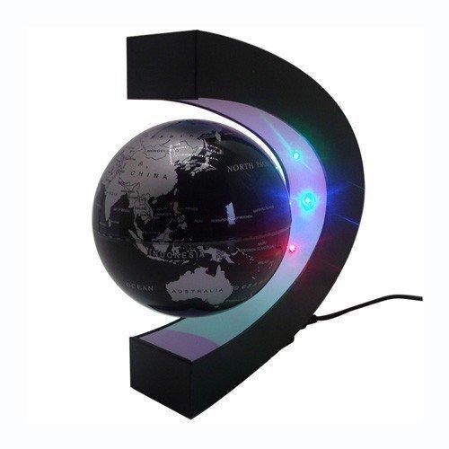 Globo del mundo flotante. Levitación magnetica.