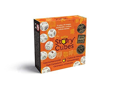 Story Cubes clásico, juego educativo, Asmodee