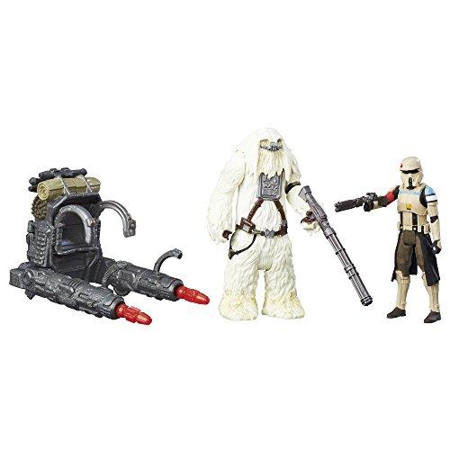 Star Wars Rogue One - Figuras Stormtrooper Scarif y Moroff