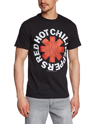 Camiseta Red Hot Chilli Pepper Asterisk Distressed