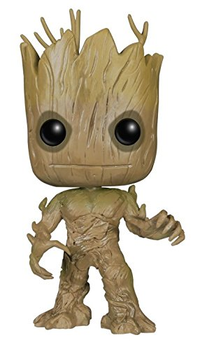 Guardians of the Galaxy - Groot Figura de colecciónPop! Negro, Marrón, Vinilo
