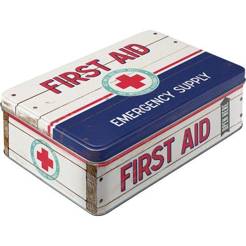 Caja Retro para primeros auxilios