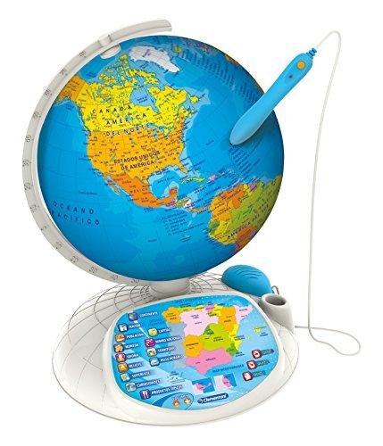 Clementoni - Globo interactivo, tipo Explora el mundo