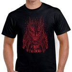 351-Camiseta Fire And Blood (Fuacka)
