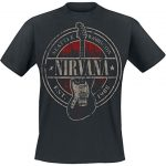 Nirvana Seattle 1988 Camiseta Negro