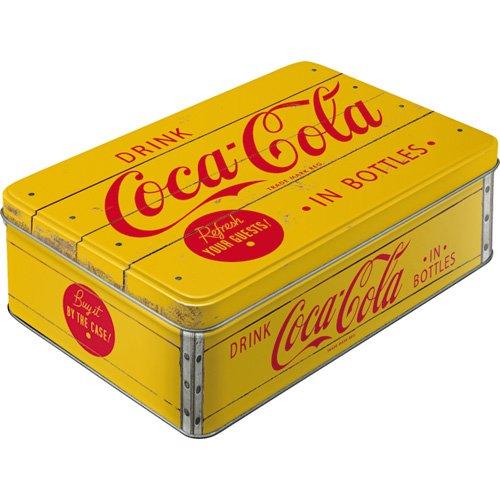 Caja Coca-Cola Logo Yellow