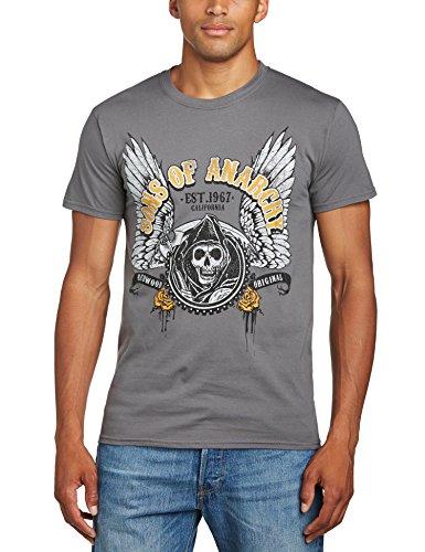 Sons of Anarchy - Camiseta de manga corta para hombre