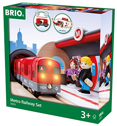 Brio - Set circuito de metro (33513)