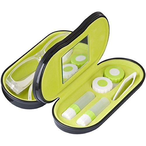 Balvi - Estuche para gafas y lentillas Twin negro