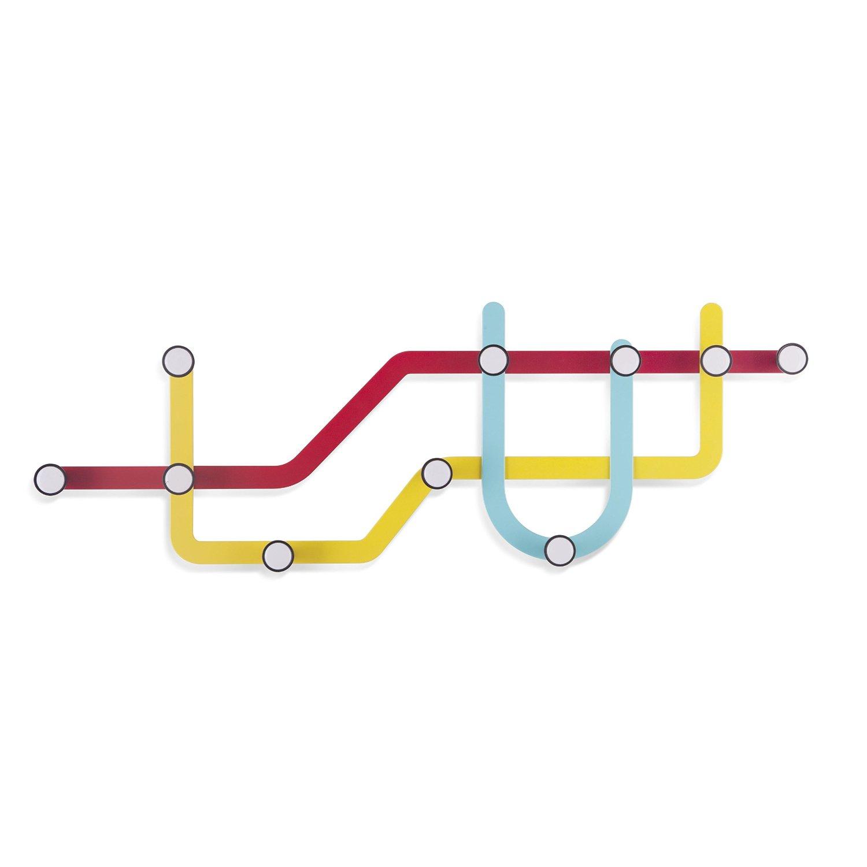 Perchero Plano de Metro