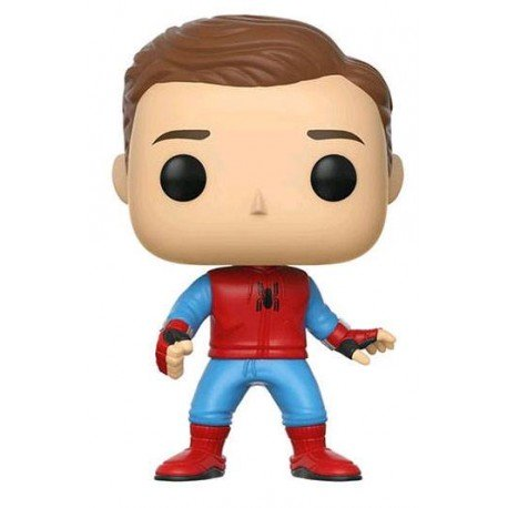 Spiderman Homecoming · Sin máscara · Figura Funko Pop!