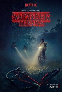 Poster Stranger Things Temporada 1